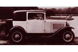 1931 Vauxhall Cadet Coupe