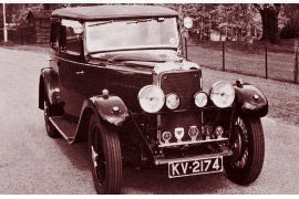 1932 Alvis TL 12/60 Sports Saloon