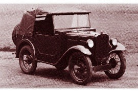 1932 Austin Seven Two-Seater Army