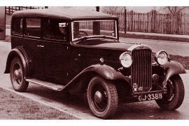 1932 Humber Pullman Limousine