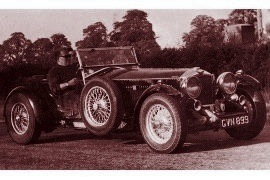 1932 Invicta 4½ Litre 30 HP Sports Open Four-Seater