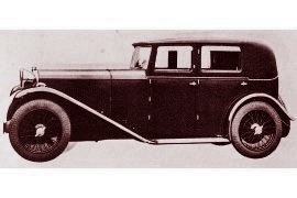 1932 Lagonda Two Litre Speed Weymann Fabric Saloon