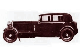 1932 Lagonda Three-Litre Selector Special Panelled Weymann Saloon
