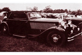 1932 Rolls-Royce 20/25 HP and 40/50 HP Phantom II