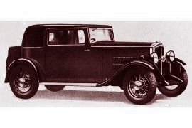 1932 Rover 10/25 Weymann Sportsman's Coupe