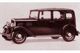 1932 Standard Big Nine Saloon