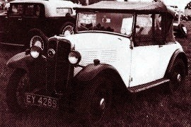 1932 Standard Little Nine Two-seater
