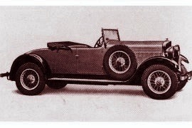 1932 Talbot Seventy-Five Two/Three-Seater