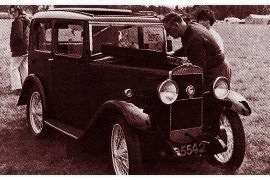 1932 Triumph Super Seven Four-door Pillarless Saloon Mark II