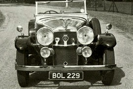 1933 Alvis Speed 20 with Cross and Ellis Tourer coachwork