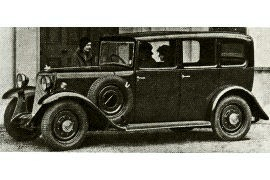 1933 Armstrong Siddeley Saloon