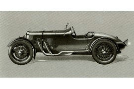 1933 Aston-Martin 12/70 Le Mans Two-seater