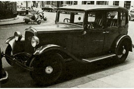 1933 Austin Light Twelve-Six