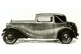 1933 Daimler 15 HP with Coupe bodywork