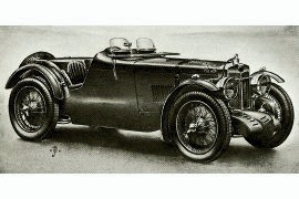 1933 MG Magnette K1 Pillarless Saloon