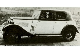 1933 Riley Nine Monaco Saloon