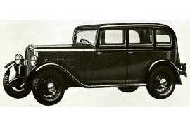 1933 Rover Family Ten Coach