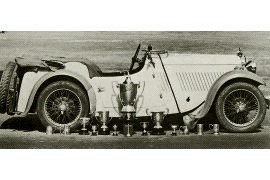 1933 Singer Nine Four-Seater Sports