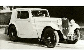 1933 Singer Nine Sports Coupe