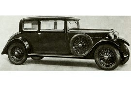 1933 Sunbeam 16 HP Six-Cylinder Four-Seater Coupe