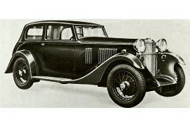 1933 Sunbeam Speed Model Coachbuilt Close-Coupled Saloon