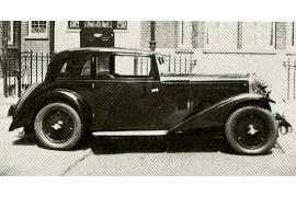 1933 Talbot 14/45 HP Light Six Scout