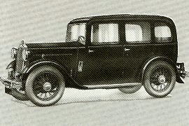 1933 Wolseley Hornet 12 HP, Sixteen and 21/60