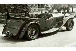 1934 Alvis Speed 20 with Cross and Ellis Tourer coachwork