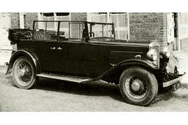 1934 Austin Light Twelve Tourer Model HT