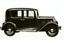 1934 Austin Ten- Four Model GRA