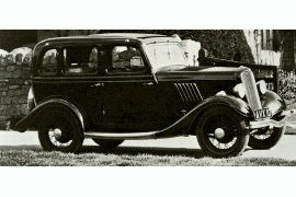 1934 Ford Model Y Saloon