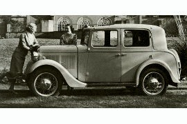 1934 Hillman Minx Club Saloon