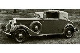 1934 Humber 16/60 Foursome Drophead Coupe