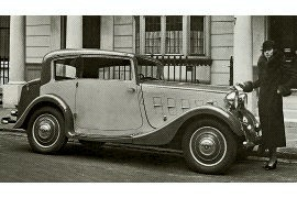1934 Humber Twelve Vogue Saloon