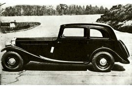 1934 Railton Sports Saloon