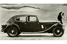 1934 Riley Nine