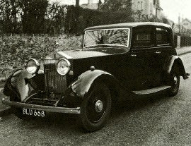 1934 RolIs-Royce 20/25 and 40/50
