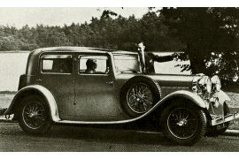 1934 Talbot 105 Sports Four-door Saloon