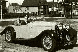 1934 Talbot 105 Four-Seater Tourer