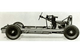 1934 Talbot Seventy-Five chassis