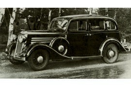 1934 Vauxhall Big Six B Series BY and BX