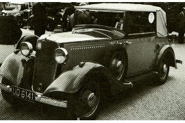 1934 Vauxhall Light Six A-Series 12 HP Drophead Coupe
