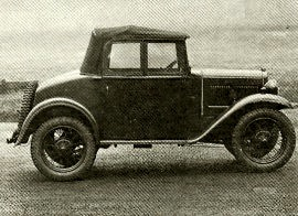 1935 Austin Seven Two-seater in Service Dress