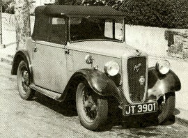1935 Austin Seven Two-seater