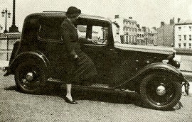 1935 Austin Ten-Four Lichfield Saloon