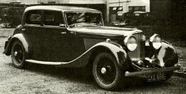 1935 Bentley 3 ½- Litre