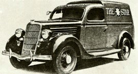 "1935 Ford V8 ""The Star"" Delivery Specials"