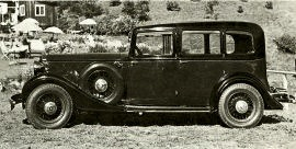 1935 Humber 16/60 Six-light Saloon