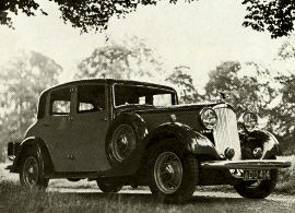 1935 Humber Snipe 8O Sports Saloon