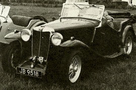 1935 MG NA Magnette Four-seater